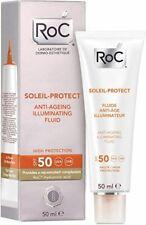 Roc Solari Crema Viso Fluida Antirughe SPF50