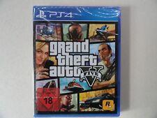 GTA 5 Five V GRAND THEFT AUTO (PS4) NEU OVP DEUTSCH***USK18***