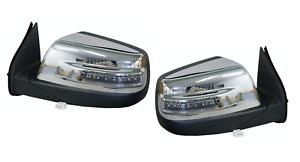 Pair of Electric Door mirror Blinker+AutoFold For Ford Ranger PJ/PK 2006-2011