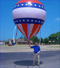 NEW USA PATRIOTIC AMERICAN HOT AIR LOOK BALLOON