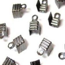 100 X Tono Negro Plegable plegadores conectores-a6565