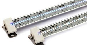 "Current Usa TrueLumen Pro LED Strip Light  W/Canopy Brackets 12-48"" 4 sizes"