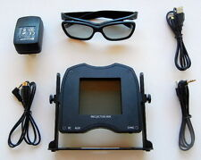 Polarizer Kit for 3D Viewing with any 3D Ready DLP Link Projector, silver screen