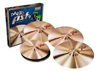 """Paiste PST7 Universal Cymbal Set - FREE 16"""" Crash"""