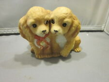 1988 Masterpiece Porcelain Cocker Spaniels Retired Homco Made In Mexico