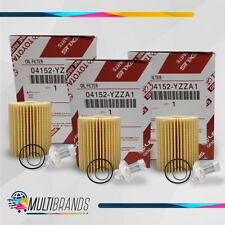 Toyota Oil Filter 04152-Yzza1 Pack of 3 - Same Day Shipping (Fits: Toyota)