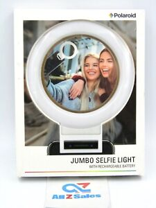 Polaroid Jumbo Selfie Light, Rechargeable. Attaches to SmartPhone -  NEW