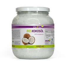 Vita2You BIO Kokosöl 1000ml - Kaltgepresst und Nativ - Aus Sri Lanka - Öko-Anbau