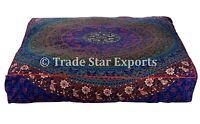 Large Mandala Floor Cushion Cover Meditation Pillow Case Decorative Box Cushions