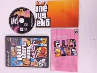 Grand Theft Auto Vice City GTA Playstation 2 PS2 Game Complete w/ Poster Map
