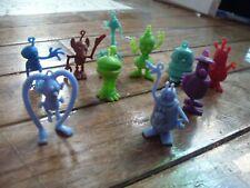 Lot of 10 1970's Vintage Cereal Box Alien Monster prizes