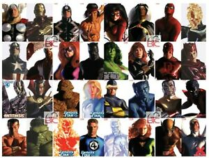 Alex Ross Timeless Marvel Variant Set 32 Covers Complete + Key Issues NM Unread