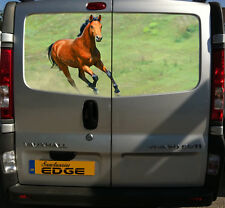 HORSE 150CM VAN DECAL PONY PONIES COB EQUESTRIAN STICKER