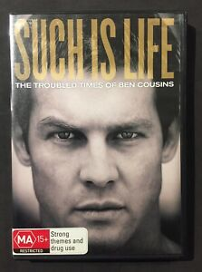 SUCH IS LIFE: THE TROUBLED TIMES OF BEN COUSINS (2010) DVD - REGION 4 - LIKE NEW