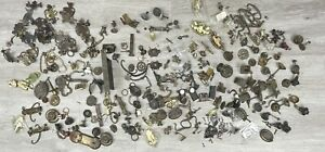 Large lot of antique furniture, door hardware- Drawer Pulls, Handles, Knobs, ect