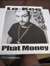 "LO-KEE - ""PHAT MONEY"" 8 X 10 promotional photo HOUSTON TEXAS"