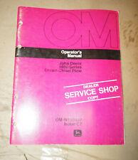 1977 John Deere 1600 Series Drawn Chisel Plow Operator's Manual Om-N159498