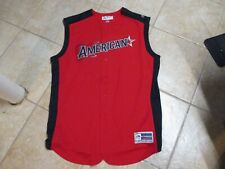 2019 AMERICAN LEAGUE ALL STAR (MAJESTIC) BASEBALL JERSEY (44) NWT RED SLEEVELESS
