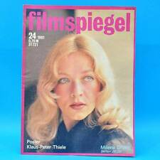 DDR Filmspiegel 24/1981 Klaus-Peter Thiele Sophia Loren Pierre Brice Schneider H