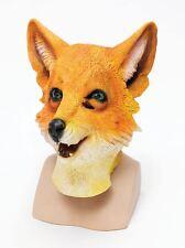 FANTASTIC MR FOX OVERHEAD RUBBER ADULT ANIMAL MASK FANCY DRESS COSTUME ACCESSORY