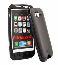 Ice Case für HTC Sensation XL in schwarz Silikon Skin Hülle Bag black