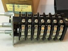 GENERAL ELECTRIC 16SB1GB352LUM4Y SWITCH CAM OPERATED 5 STAGE 3 POSITIO