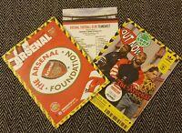 Arsenal v Manchester City 15/12/19 Programme + teamsheet!FREE POSTAGE WITHIN UK!