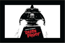 "Death Proof sticker decal 5"" x 3"""