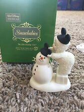 Dept56 Snowbabies Walt Disney Showcase Habille Comme Mickey Retired & Rare