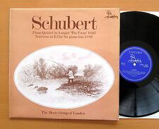 RHS 311 schubert trout quintet Notturno Trio Music Group of London Unicorn Presque comme neuf/EX
