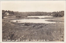 RPPC,Harpswell,ME.Cundys Harbor,Dyke & Frost Fish Cove,Cumberland Co.Used,1939