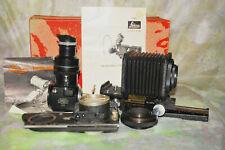 Leica Leitz Macro Bellows Visoflex Focaslide Adapter Lot Box Vintage 1874/4757