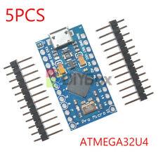 5PCS Pro Micro Leonardo ATmega32U4 5V 16M Replace ATmega328 Pro Mini For Arduino