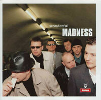 """MADNESS """"WONDERFUL"""" 1999 BRAND NEW SEALED OLD STOCK 11-TRACK CD!"""