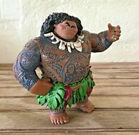 "Disney Moana Maui PVC Figure Toy Cake Topper 4"" High (Missing Hook)"