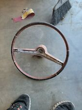 1962 Chevy Impala Steering Wheel With Horn Button Chevrolet 62