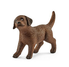 Schleich 13835 Chocolate Labrador Retriever Puppy Dog Lab Toy Model 2017 - NIP