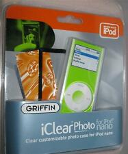 Griffin iClear PHOTO for Apple  iPod Nano Case Cover Protector NEW Personalize