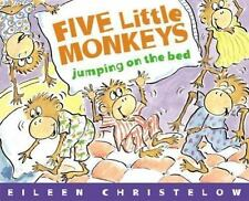 Five Little Monkeys Jumping on the Bed (Paperback or Softback)