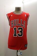 Adidas Chicago Bulls Mens Small Red Sleeveless Basketball Jersey #Joakim Noah S