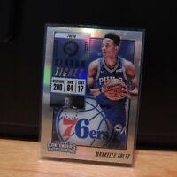 Markelle Fultz Panini Contenders Silver Prizm Holo Card RARE Philadelphia 76ers