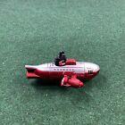 Vintage Radio Shack Mako Mini-Sub Remote Control RC Red Submarine