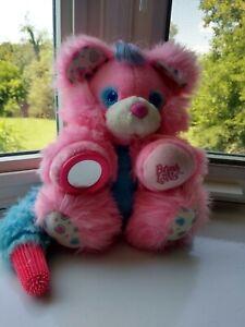 VTG 80s TYCO BRUSH A LOVES Teddy Bear Soft Toy Plush good condition.