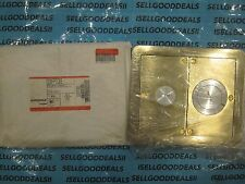 Wiremold S38PPTCBS FloorPort Covers Assy-Plated Brass NEW