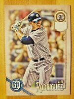 2018 Gypsy Queen Extended SP Missing Nameplate Parallel Alex Rodriguez #305 SSP