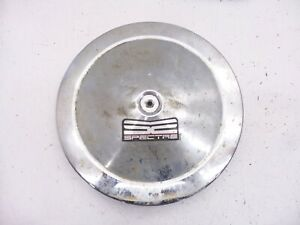 """CAMARO CHEVROLET CHEVY AIR CLEANER LID AND BASE 305 350 14"""" LID 5"""" BASE HOLE"""