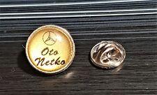 Mercedes Benz Pin Oto Netko Macedonia - Dimensions 17mm