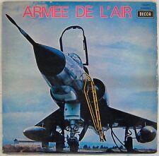 Armée de l'Air  33 tours Batterie Fanfare de la musique de l'air 1970