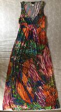 Miss Sixty Valeria Brit  Maxi Dress Size M