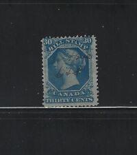 CANADA - #FB29 - 30c USED QUEEN VICTORIA BILL STAMP (1865)